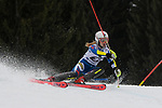 10.03.2018, Ofterschwanger Horn, Ofterschwang, GER, Slalom Weltcup in Ofterschwang, im Bild Ekaterina Tkachenko (RUS, #34)<br /> <br /> Foto &copy; nordphoto / Hafner
