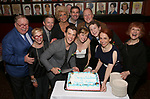 Cast members and creative team attend the closing Night party for the Off-Broadway hit  'Shear Madness' at Sardi's on April 23, 2017 in New York City.