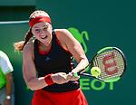 Jelena Ostapenko (LAT) defeats Elina Svitolina (UKR) by 7-6 (3), 7-6 (5)