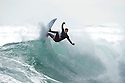 Unknown surfer at Sewers near Margaret River in Western Australia.