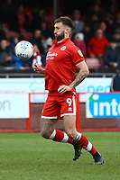 Ollie Palmer of Crawley Town during Crawley Town vs Grimsby Town, Sky Bet EFL League 2 Football at Broadfield Stadium on 9th March 2019