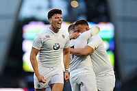 Johnny Williams of England U20 celebrates at the final whistle. World Rugby U20 Championship Final between England U20 and Ireland U20 on June 25, 2016 at the AJ Bell Stadium in Manchester, England. Photo by: Patrick Khachfe / Onside Images