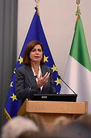 Roma, 28 Settembre 2017<br /> Laura Boldrini<br /> Primo giorno della Terza Conferenza Nazionale della Famiglia al Campidoglio