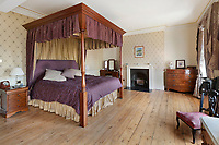 BNPS.co.uk (01202 558833)<br /> Pic: Fine&Country/BNPS<br /> <br /> A former 'Captain's House' in a historic dockyard has emerged on the market for £1.25million.<br /> <br /> The Grade II listed five storey residence is at the far end of a terrace of 12 properties, known as Officers Terrace, which overlook the River Medway in Chatham, Kent.<br /> <br /> They were built by the Admiralty in the 1830s to provide homes and offices for the principal Officers of the Dockyard. The dockyard closed in 1983 and the building was used as an office before being converted into residential use.<br /> <br /> The historic nine bedroom property has undergone a recent restoration, but retains its period features including wooden shutters and open fireplaces.<br /> <br /> It is being sold with estate agent Fine and Country who describe it as 'Victorian elegance personified'.