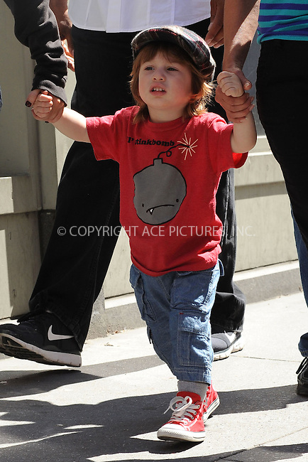 WWW.ACEPIXS.COM . . . . . ....May 7 2010, New York City....Singer Christina Aguilera took her son Max for a stoll around Soho on May 7 2010 in New York City....Please byline: KRISTIN CALLAHAN - ACEPIXS.COM.. . . . . . ..Ace Pictures, Inc:  ..tel: (212) 243 8787 or (646) 769 0430..e-mail: info@acepixs.com..web: http://www.acepixs.com