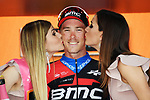 Australian National Champion Rohan Dennis (AUS) BMC Racing Team wins Stage 16 of the 2018 Giro d'Italia, a 34.2km individual time-trial from Trento to Rovereto the stage is a pivotal moment in the fight for the Corsa Rosa's GC, Italy. 21st May 2018.<br /> Picture: LaPresse/Gian Mattia D'Alberto | Cyclefile<br /> <br /> <br /> All photos usage must carry mandatory copyright credit (&copy; Cyclefile | LaPresse/Gian Mattia D'Alberto)