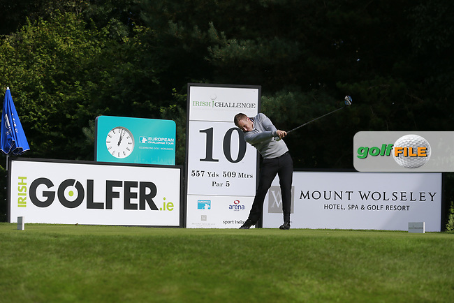 Marcus Mohr (ENG) during round 1 of the Irish Challenge, Mount Wolseley Hotel and Golf Resort, Tullow, Co Carlow, Ireland 14/09/2017<br /> Picture: Fran Caffrey / Golffile<br /> <br /> All photo usage must carry mandatory copyright credit (&copy; Golffile | Fran Caffrey)