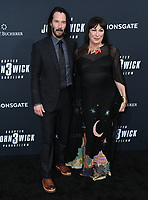 "15 May 2019 - Hollywood, California - Keanu Reeves, Angelica Houston. ""John Wick: Chapter 3 - Parabellum"" Special Screening Los Angeles held at the TCL Chinese Theatre.     <br /> CAP/ADM/BT<br /> ©BT/ADM/Capital Pictures"