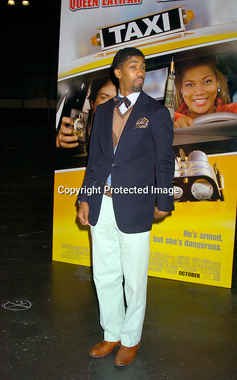 "Fonzworth Bentley ..at the World's First ever Taxi Cab Drive-in for ""Taxi"" ..on October 3, 2004 at the Jacob Javits Center. ..Photo by Robin Platzer, Twin Images"