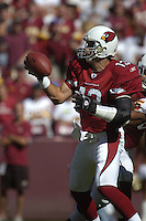21 October 2007:  Cardinals QB Kurt Warner (13) wearing elbow brace.  The Washington Redskins defeated the Arizona Cardinals 21-19 at FedEx Field in Landover, MD.