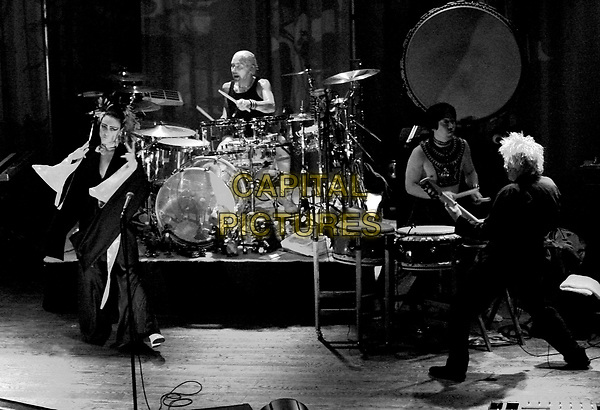 SIOUXSIE SIOUX & BUDGIE.perform live for The VH1 Classics, a Night with Siouxsie held at The House of Blues in Anaheim, California .September 19, 2004.full length, stage, concert, music, live, singing, drums, the banshees.www.capitalpictures.com.sales@capitalpictures.com.Copyright by Debbie VanStory