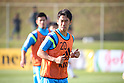 Shinji Kagawa (JPN),<br /> JUNE 22, 2014 - Football / Soccer : Japan's national soccer team training session at Japan's team base camp at Training Site Pass in Itu Brazil.<br /> (Photo by Kenzaburo Matsuoka/AFLO)
