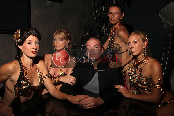 Natalie Atkins, Amber Smith, Jamin Fite, Lindsay Smith, Annette 'belle' Cheney<br /> at the LeiasMetalBikini.com Day at Gentle Giant, Gentle Giant Studios, Burbank, CA. 07-15-11<br /> David Edwards/DailyCeleb.com 818-249-4998