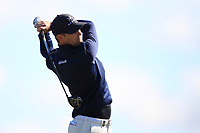 Niklas Lemke (SWE) on the 5th tee during Round 4 of the Betfred British Masters 2019 at Hillside Golf Club, Southport, Lancashire, England. 12/05/19<br /> <br /> Picture: Thos Caffrey / Golffile<br /> <br /> All photos usage must carry mandatory copyright credit (© Golffile | Thos Caffrey)