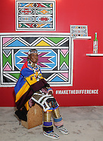Belvedere Celebrates (RED) and Partnership with South African Artist, Esther Mahlangu - Ace  (Class)