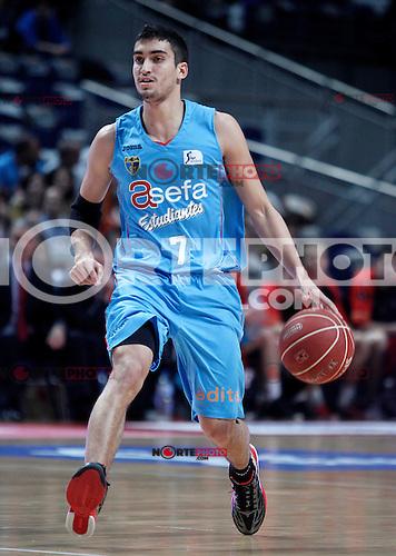 Asefa Estudiantes' Jaime Fernandez during Liga Endesa ACB match.November 11,2012. (ALTERPHOTOS/Acero) /NortePhoto
