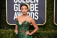 Jeannie Mai attends the 76th Annual Golden Globe Awards at the Beverly Hilton in Beverly Hills, CA on Sunday, January 6, 2019.<br /> *Editorial Use Only*<br /> CAP/PLF/HFPA<br /> Image supplied by Capital Pictures