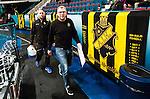 Stockholm 2014-11-16 Ishockey Hockeyallsvenskan AIK - IF Bj&ouml;rkl&ouml;ven :  <br /> AIK:s tr&auml;nare huvudtr&auml;nare Peter Nordstr&ouml;m p&aring; v&auml;g till spelarb&aring;set inf&ouml;r den andra perioden av matchen mellan AIK och IF Bj&ouml;rkl&ouml;ven <br /> (Foto: Kenta J&ouml;nsson) Nyckelord:  AIK Gnaget Hockeyallsvenskan Allsvenskan Hovet Johanneshov Isstadion Bj&ouml;rkl&ouml;ven L&ouml;ven IFB tr&auml;nare manager coach portr&auml;tt portrait
