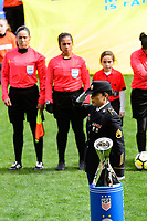 Harrison, NJ - Sunday March 04, 2018: Waites during a 2018 SheBelieves Cup match match between the women's national teams of the United States (USA) and France (FRA) at Red Bull Arena.
