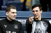 Burnley's Sam Vokes and Jack Cork take their places on the bench<br /> <br /> Photographer Rich Linley/CameraSport<br /> <br /> Emirates FA Cup Fourth Round - Manchester City v Burnley - Saturday 26th January 2019 - The Etihad - Manchester<br />  <br /> World Copyright © 2019 CameraSport. All rights reserved. 43 Linden Ave. Countesthorpe. Leicester. England. LE8 5PG - Tel: +44 (0) 116 277 4147 - admin@camerasport.com - www.camerasport.com