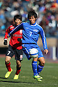 Masashi Ikebe (Ichiritsu Funabashi), JANUARY 7, 2012 - Football /Soccer : 90th All Japan High School Soccer Tournament semi-final between Oita 1-2 Ichiritsu Funabashi at National Stadium, Tokyo, Japan. (Photo by YUTAKA/AFLO SPORT) [1040]