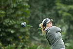 Sally Watson of Scotland tees off at the 4th hole during Round 2 of the World Ladies Championship 2016 on 11 March 2016 at Mission Hills Olazabal Golf Course in Dongguan, China. Photo by Victor Fraile / Power Sport Images
