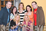 FOOD: Enjoying the food at the Tralee Technology Park Barbecue at Reubens Restaurant, Tralee, on.Friday night. Front l-r: Siobhan Naughton (Technology Park) and Hiltje Nawijn. Back l-r: Steve Malone,.Colette Price, Fionnuala Egan, Rachel O'Shea and Cian O'Sullivan (Tralee).