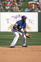 Elvis Andrus - Texas Rangers 2016 spring training (Bill Mitchell)