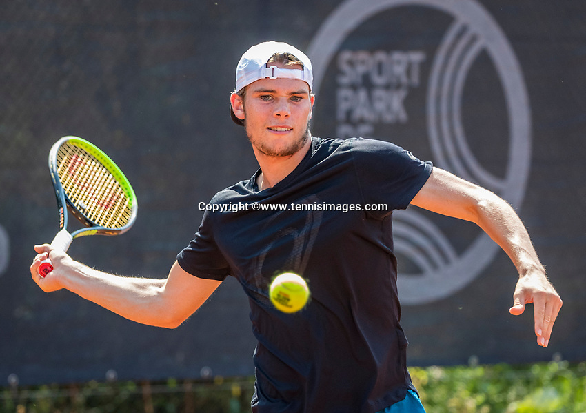 Amstelveen, Netherlands, 10 August 2020, NTC, National Tennis Center, Ryan Nijboer (NED)  <br /> Photo: Henk Koster/tennisimages.com