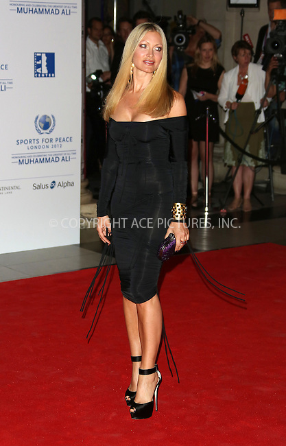 WWW.ACEPIXS.COM . . . . .  ..... . . . . US SALES ONLY . . . . .....July 25 2012, London....Caprice Bourret at the Sports for Peace Fundraising Gala on July 25 2012 in London ....Please byline: FAMOUS-ACE PICTURES... . . . .  ....Ace Pictures, Inc:  ..Tel: (212) 243-8787..e-mail: info@acepixs.com..web: http://www.acepixs.com
