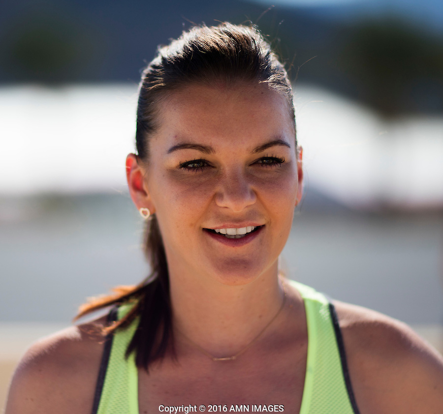 AGNIESZKA RADWANSKA (POL)<br /> <br /> BNP PARIBAS OPEN, INDIAN WELLS, TENNIS GARDEN, INDIAN WELLS, CALIFORNIA, USA<br /> <br /> &copy; AMN IMAGES