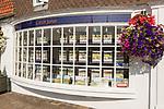 Carter Jonas estate agent shop office Marlborough, Wiltshire, England, UK