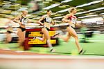 18.02.2018,  Helmut-K&ouml;rnig-Halle, Dortmund, GER, Deutsche Leichtathletik Meisterschaften Dortmund 2018, <br /> <br /> im Bild | picture shows:<br /> das Finale der 400m der Frauen mit 2. vl. Laura Marx (LT DSHS K&ouml;ln) und (Mitte) Hendrijke Richter (SCC Berlin), <br /> <br /> Foto &copy; nordphoto / Rauch