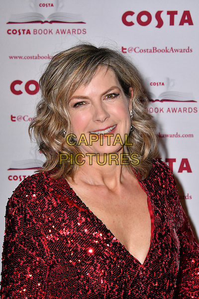 Penny Smith<br /> Costa Book Of The Year Award 2016, at Quaglino&rsquo;s, London, England on January 31, 2017.<br /> CAP/JOR<br /> &copy;JOR/Capital Pictures