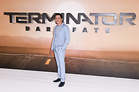 "Gabriel Luna<br /> at the ""Terminator: Dark Fate"" photocall, London.<br /> <br /> ©Ash Knotek  D3529 17/10/2019"