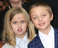 VIVIENNE AND KNOX JOLIE-PITT - RED CARPET OF THE FILM 'FIRST THEY KILLED MY FATHER' - 42ND TORONTO INTERNATIONAL FILM FESTIVAL 2017
