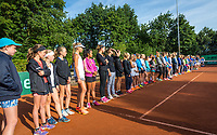 Hilversum, Netherlands, August 7, 2017, National Junior Championships, NJK, Opening<br /> Photo: Tennisimages/Henk Koster