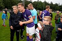 ROLDE - Voetbal, FC Groningen - FC Emmen, voorbereiding seizoen 2019-2020, 16-07-2019,  op de foto met FC Groningen speler Mike te Wierik