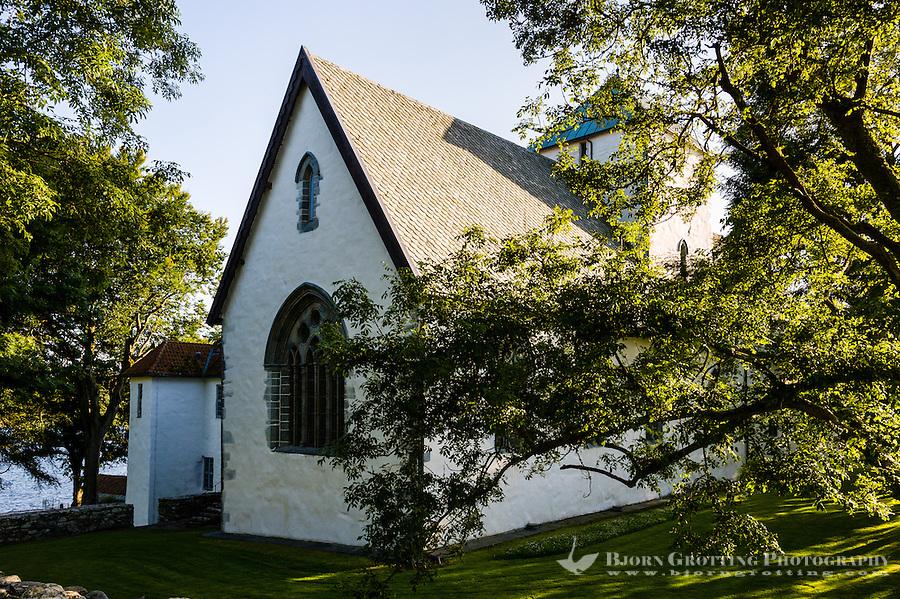 Norway, Rennesøy. Utstein Monastery on Klosterøy Island.