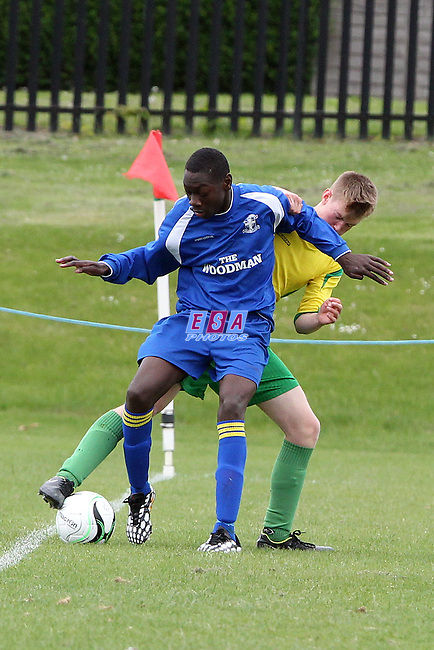 WESTSIDE v FFK ATHLETIC<br /> LONDON SATURDAY YOUTH LEAGUE U16 CUP FINAL SATURDAY 23RD MAY 2015 LONG LANE FC