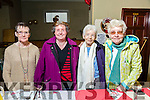 Margaret Lacey, Mary Fitzgerald, Philomena Duggan, Christina Mulligan enjoying the John Mitchels Christmas Party in Champers Club House on Saturday
