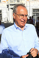 Guglielmo Epifani Segretario PD <br /> Democratic Party Secretary Guglielmo Epifani <br /> Genova 07-09-2013 Festa Nazionale Partito Democratico <br /> Democratic Party National Meeting <br /> Photo  Genova Foto /Insidefoto