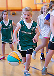 YMCA youth basketball, 2nd grade girls at Blach Gym, January 19, 2013