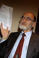 "Montreal (Qc) CANADA , File Photo  of Doctor Henry Morgentaler.<br /> <br /> Morgentaler was named to the Order of Canada on July 1, 2008, recognized ""for his commitment to increased health care options for women, his determined efforts to influence Canadian public policy and his leadership in humanist and civil liberties organizations.Abortion-rights activists applauded the decision, saying Morgentaler put his life and liberty on the line to advance women's rights, while anti-abortion groups strongly criticized the award, saying it debased the Order of Canada. Several members of the order returned their insignias to Rideau Hall in symbolic protest, including Roman Catholic priest Lucien Larré, Gilbert Finn, former Lieutenant-governor of New Brunswick,and the Madonna House Apostolate on behalf of Catherine Doherty.<br /> <br /> On the matter, Prime Minister Stephen Harper said he'd rather see the country's highest civilian award ""be something that really unifies"" and ""brings Canadians together,while, Liberal Party leader Stephane Dion said, ""Dr. Morgentaler has stood up for a woman's right to choose for his entire career, often at great personal risk,"" and asked Canadians to respect and celebrate the decision.<br /> <br /> Morgentaler fought the Canadian anti-abortion law from 1967 to the 1982 judgement by Canada's Supreme Court that finally alllowed all women access to abortion perfomed in safe medical conditions.<br /> <br /> <br /> photo : (c) images Distribution"