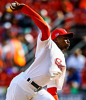 Raidel Martinez pitcher closer of the Alazanes of Granma Cuba, takes the save to win game 6 races by 4, during the baseball game of the Caribbean Series against Caribes de Anzoategui of Venezuela in Guadalajara, Mexico, on Friday, February 2, 2018. (/ Luis Gutierrez)