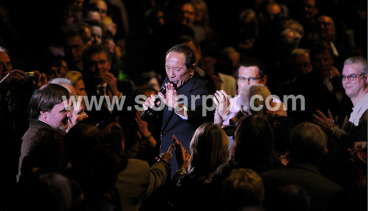 **ALL ROUND PICTURES FROM SOLARPIX.COM**.**SYNDICATION RIGHTS FOR UK AND SPAIN ONLY**.Canadian Singer Paul Anka performes a concert in Dusseldorf, Germany. 10th April 2008..JOB REF: 6121CPR/Volker Hartmann DATE: 10_04_08.**MUST CREDIT SOLARPIX.COM OR DOUBLE FEE WILL BE CHARGED* *UNDER NO CIRCUMSTANCES IS THIS IMAGE TO BE REPRODUCED FOR ANY ONLINE EDITION WITHOUT PRIOR PERMISSION*