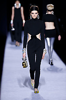 Tom Ford<br /> Francesca Summers<br /> New York Fashion Week <br /> FW18<br /> <br /> New York Fashion Week,  New York, USA in February 2018.<br /> CAP/GOL<br /> &copy;GOL/Capital Pictures