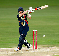Sam Billings bats for Kent during the Vitality Blast T20 game between Kent Spitfires and Essex Eagles at the St Lawrence Ground, Canterbury, on Thu Aug 2, 2018