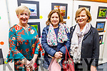 Kathriona Sheehan (Kerry branch of Alzheimer's Society), Catherine Dolan and Kay McNamara (Kerry branch of Alzheimer's Society) at the Photography Exhibition in the Tralee Library on Thursday as a fundraiser for the Kerry branch of the Alzheimer's Society