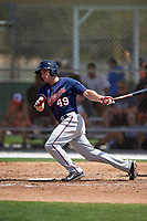 Minnesota Twins Stephen Wickens (49) during a minor league Spring Training game against the Baltimore Orioles on March 16, 2016 at CenturyLink Sports Complex in Fort Myers, Florida.  (Mike Janes/Four Seam Images)